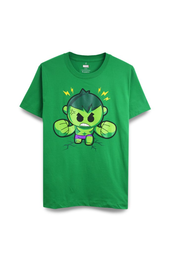 MARVEL MINI HULK T-SHIRT GREEN XS