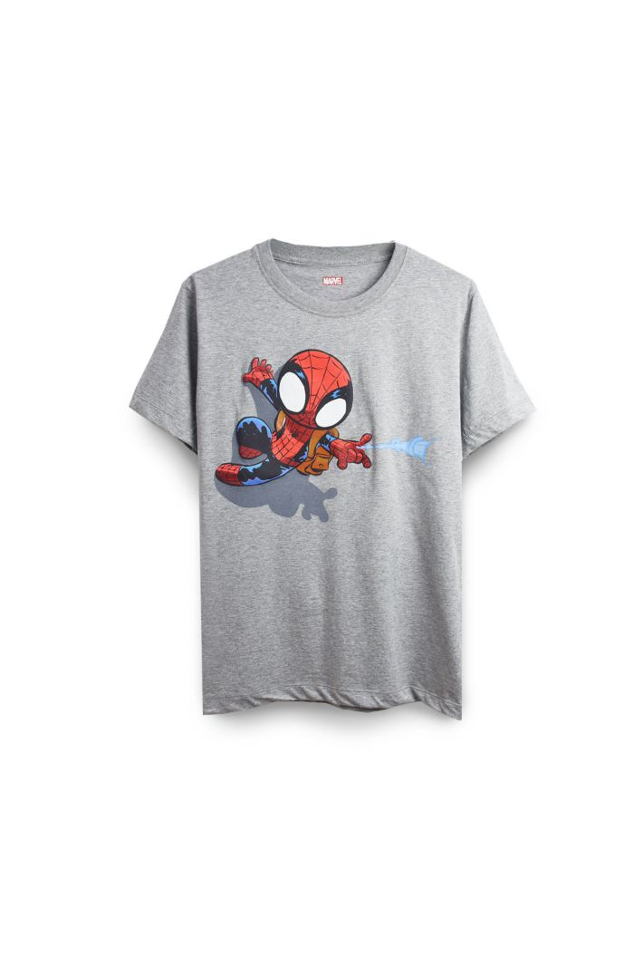 SPIDEY MINI T-SHIRT GREY XS