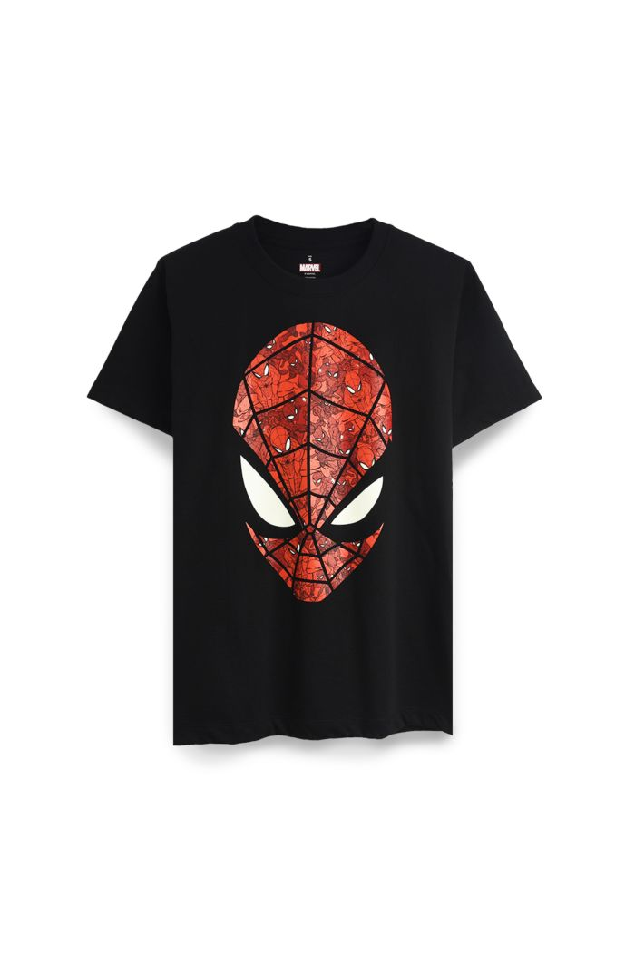 SPIDEY FACE T-SHIRT BLACK XS