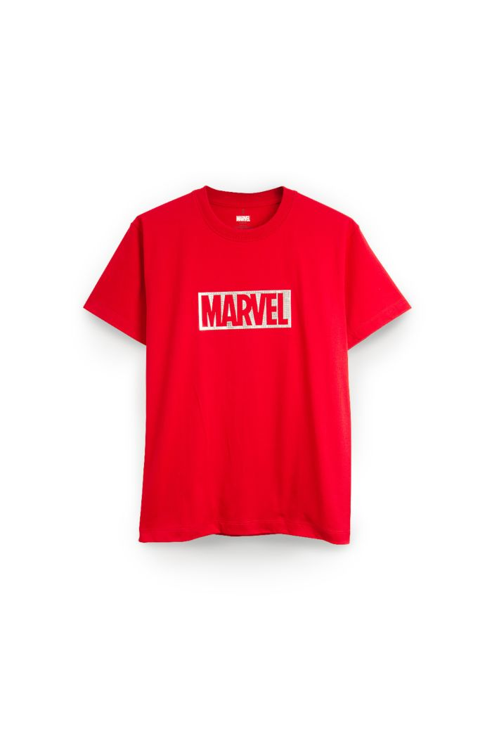 MARVEL SILVER T-SHIRT