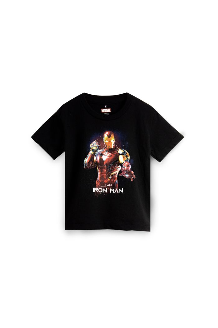 MARVEL END GAME I AM IRON MAN GLOW T-SHIRT - KIDS