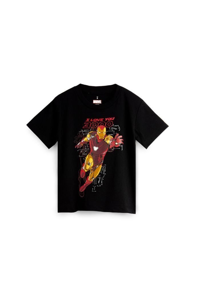MARVEL END GAME I LOVE YOU 3000 IRON MAN GLOW T-SHIRT - KIDS