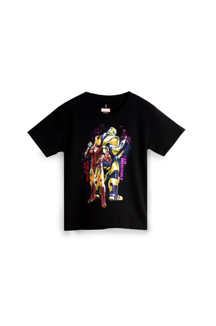 MARVEL END GAME IRON MAN & THANOS T-SHIRT - KIDS