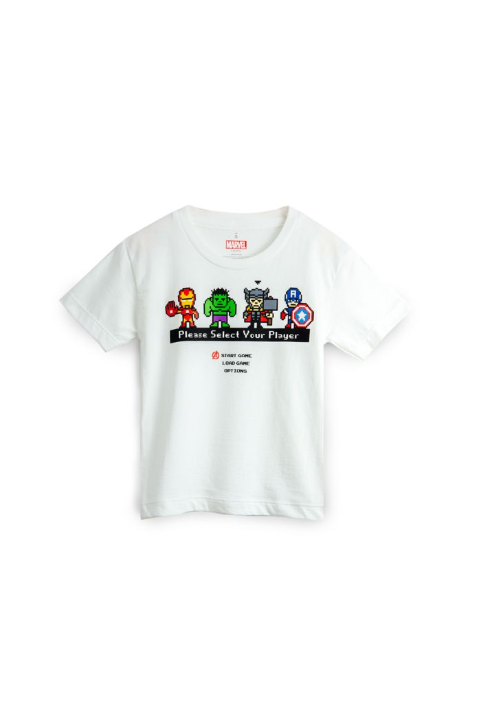 MARVEL SELECT PLAYER T-SHIRT - KIDS