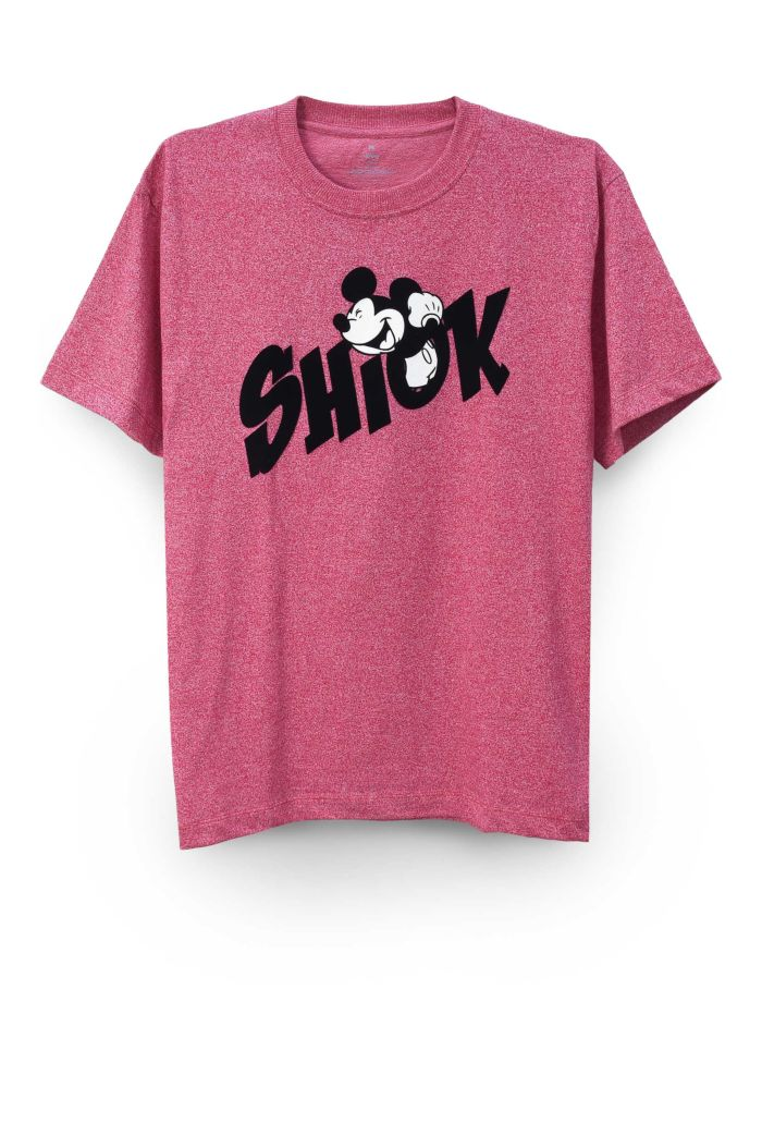 MICKEY SHIOK T-SHIRT RED XS