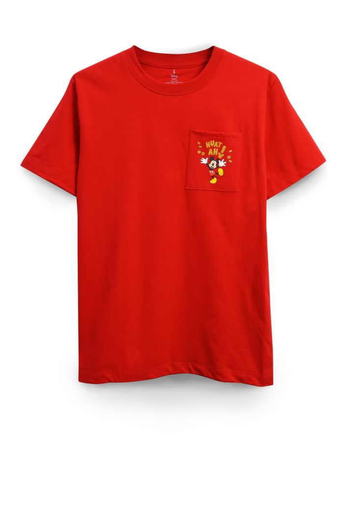 MICKEY HUAT POCKET T-SHIRT