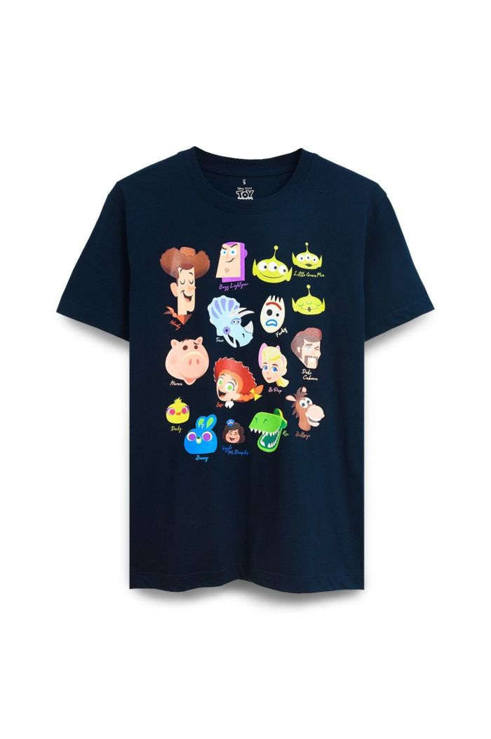 TOY STORY CHARACTERS HEADS T-SHIRT