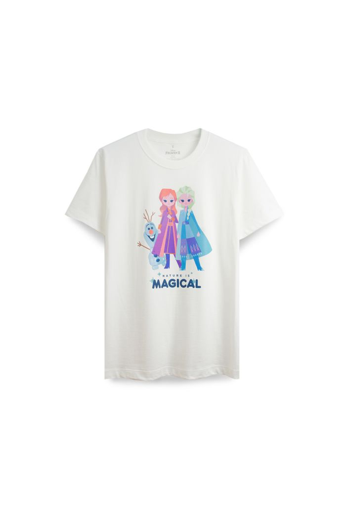 FROZEN II CUTE CHARACTER T-SHIRT