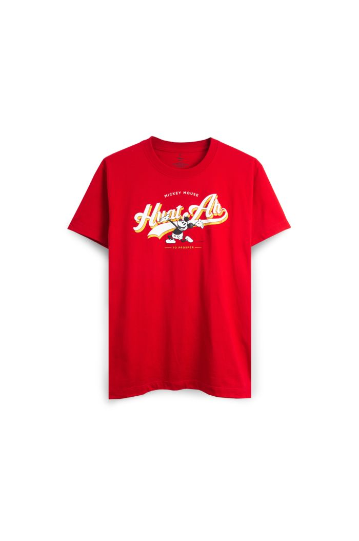 MICKEY HUAT SPORT CLUB T-SHIRT RED XS