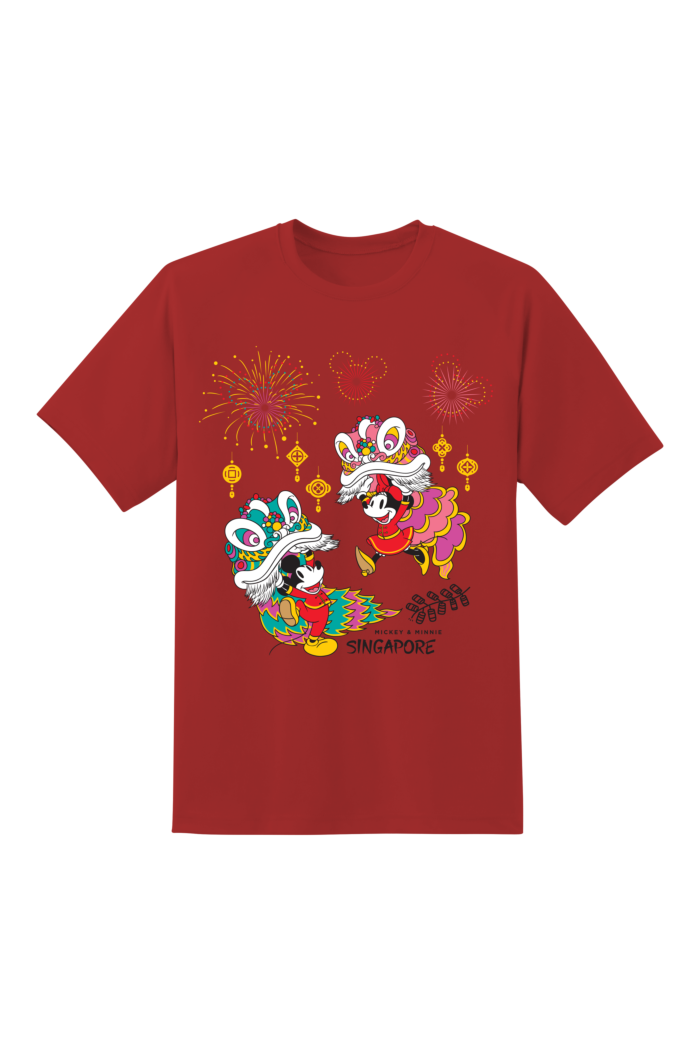 MICKEY 2 LION DANCE T-SHIRT