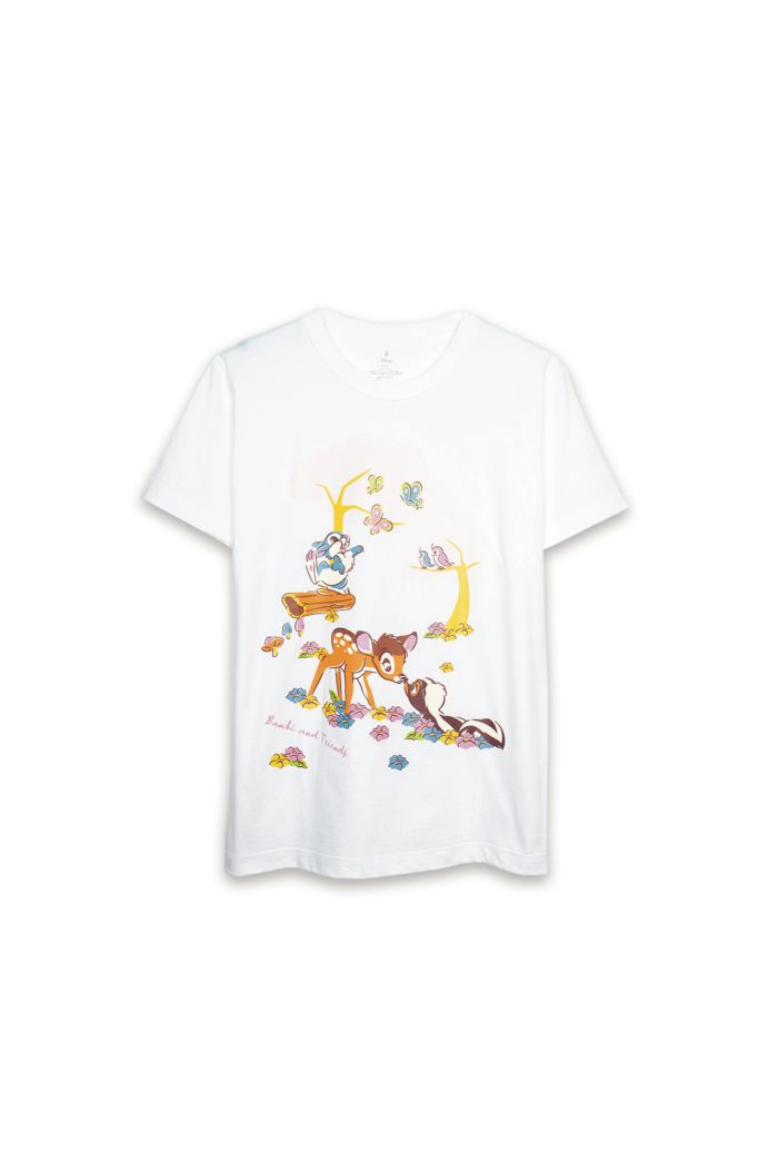 BAMBI FOREST T-SHIRT WHITE XS