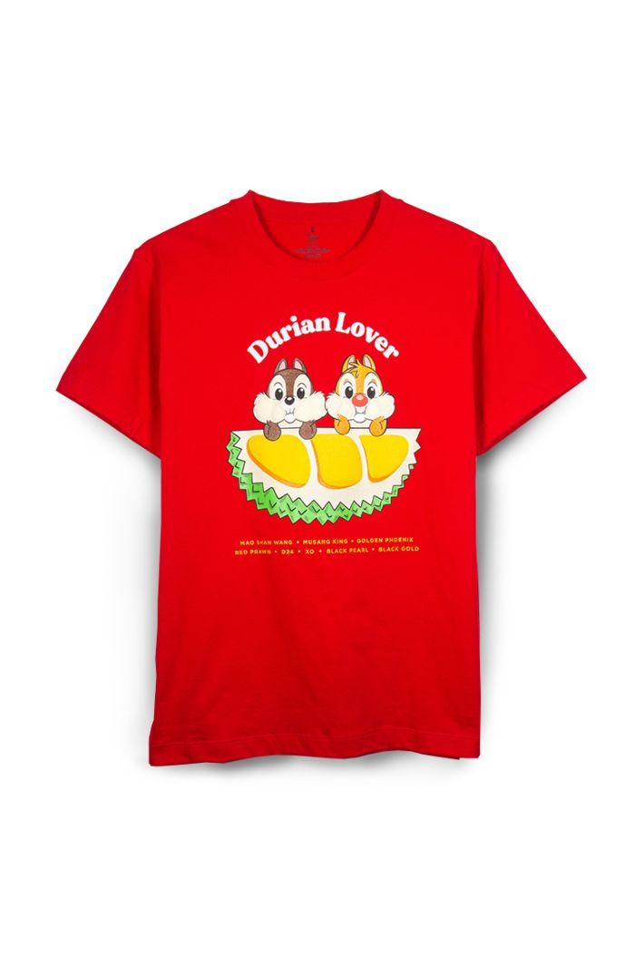 CHIP N DALE DURIAN LOVER T-SHIRT