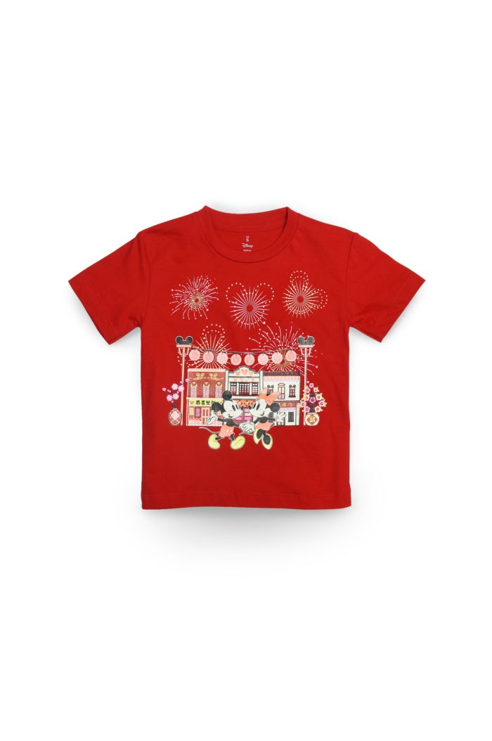MICKEY CHINATOWN GLOW T-SHIRT - KIDS