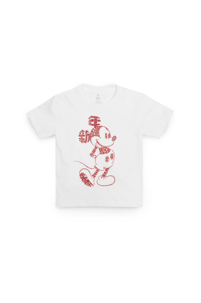 MICKEY CNY CALLIGRAPHY T-SHIRT - KIDS