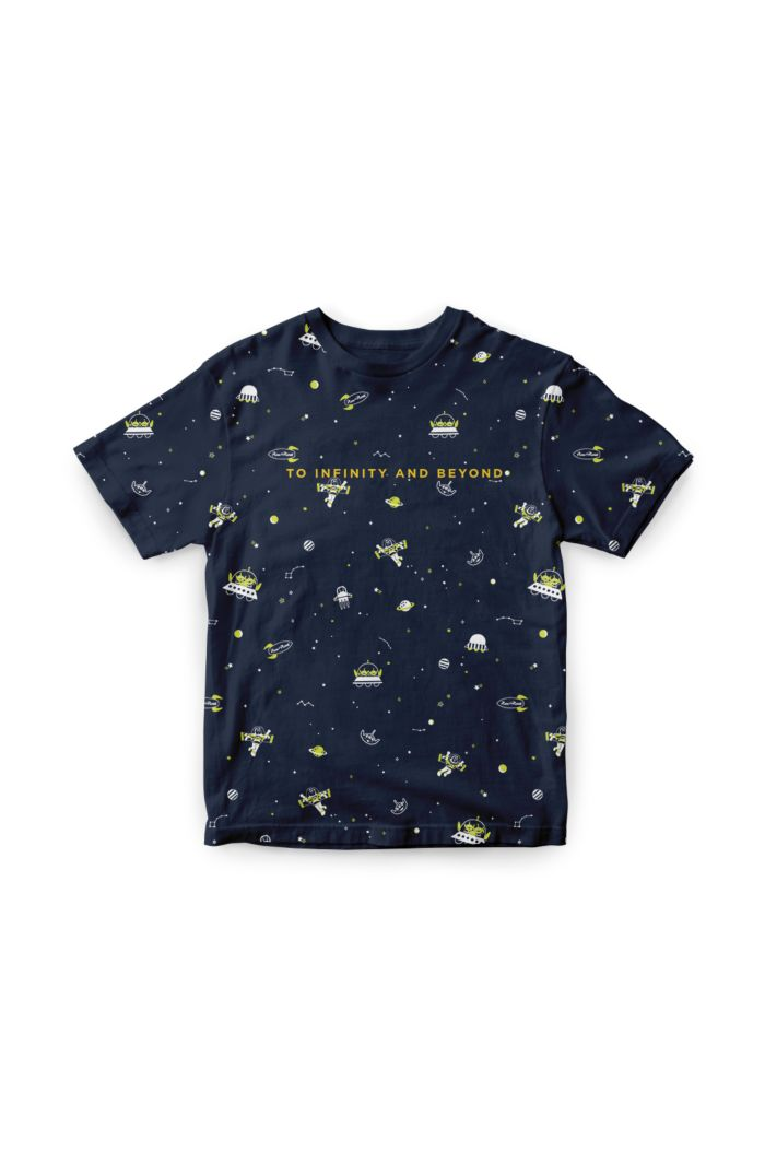 TOY STORY TO INFINITY AND BEYOND GLOW T-SHIRT - KIDS NAVY S