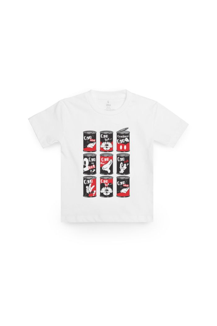 MICKEY 9 CANS T-SHIRT - KIDS