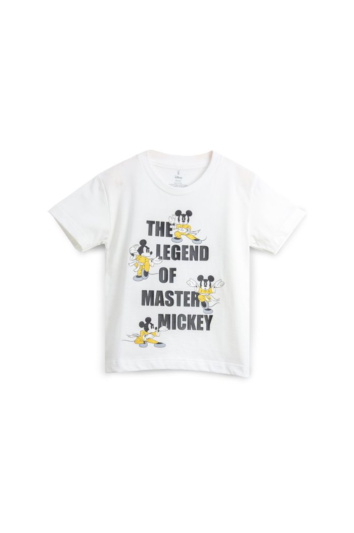 MICKEY LEGEND OF MASTER T-SHIRT - KIDS WHITE S