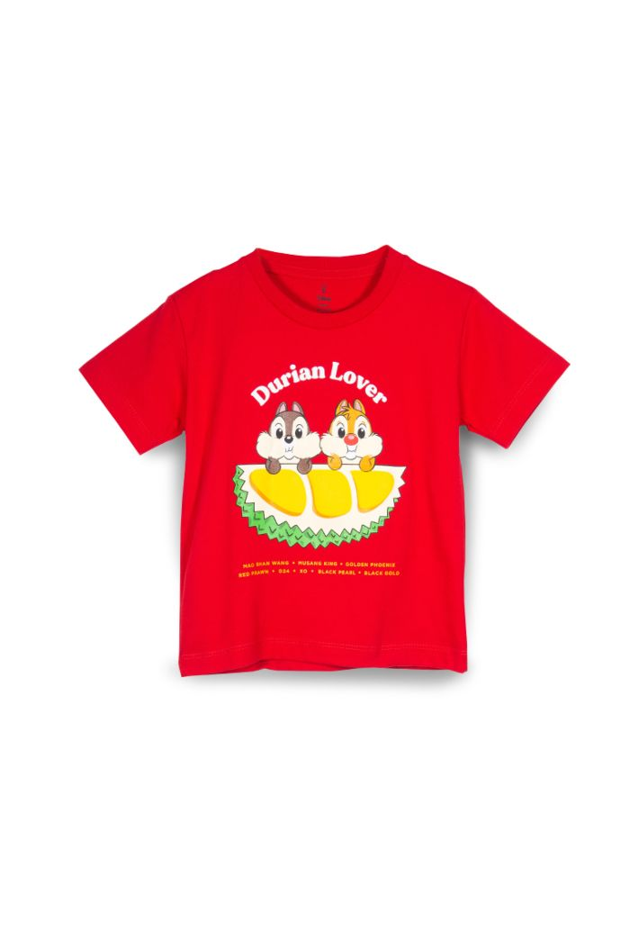 CHIP N DALE DURIAN LOVER T-SHIRT - KIDS