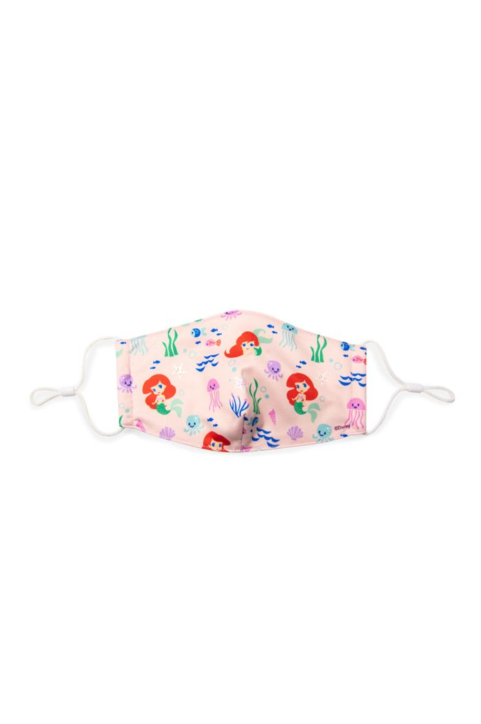 PRINCESS CHIBI ARIEL REUSABLE MASK