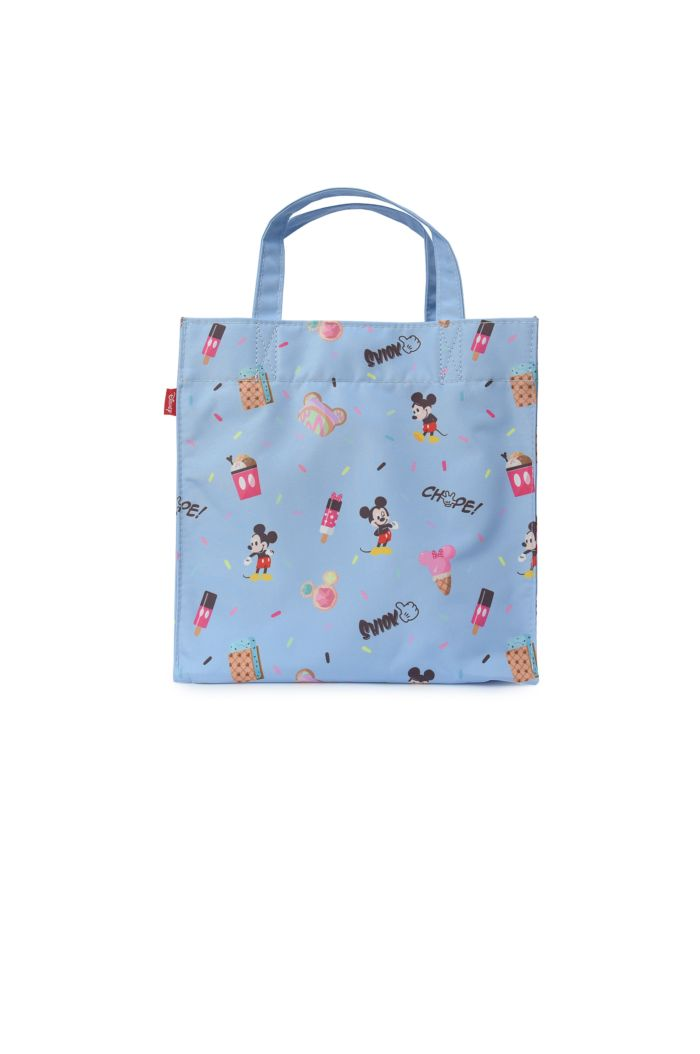 MICKEY BLUE SPRINKLES LUNCH BAG BABYBLUE 23.5cm x 23.5cm