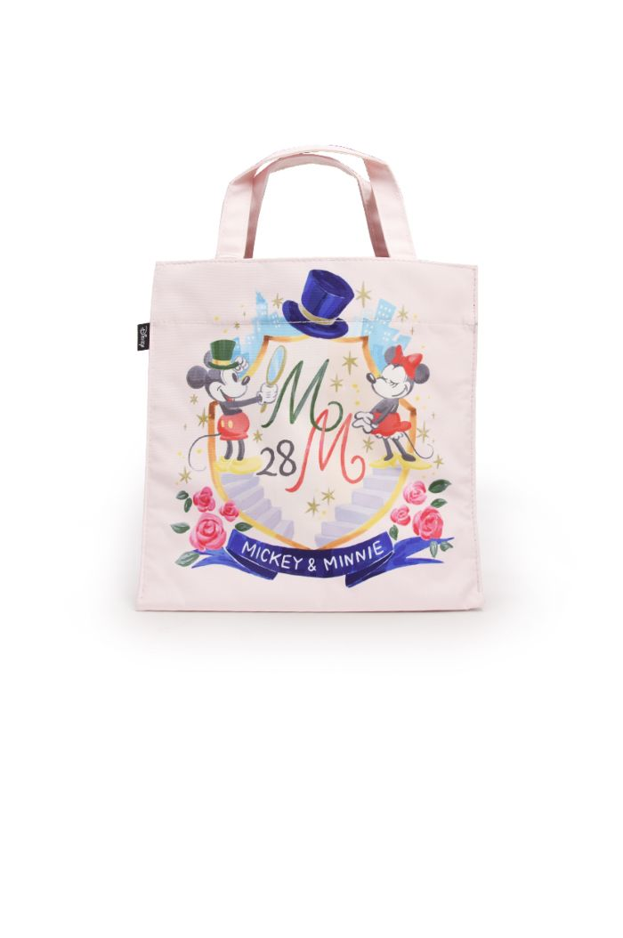 MICKEY MINNIE 28TH LUNCH BAG WHITE 23.5cm x 23.5cm