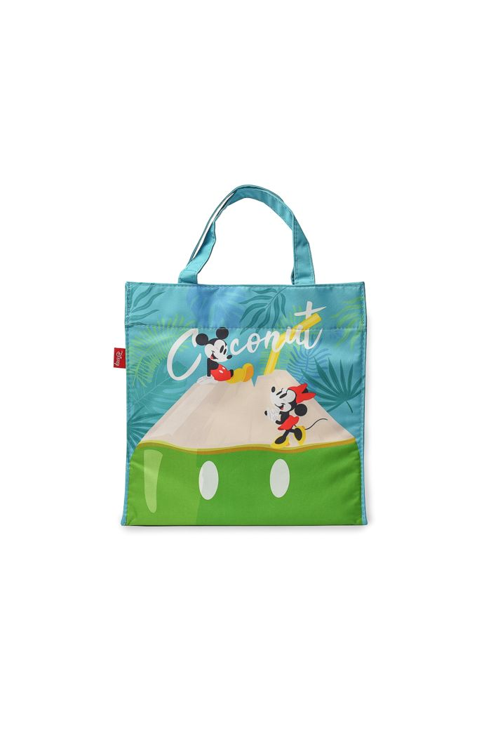 MICKEY COCONUT LUNCH BAG BABYBLUE 23.5cm x 23.5cm