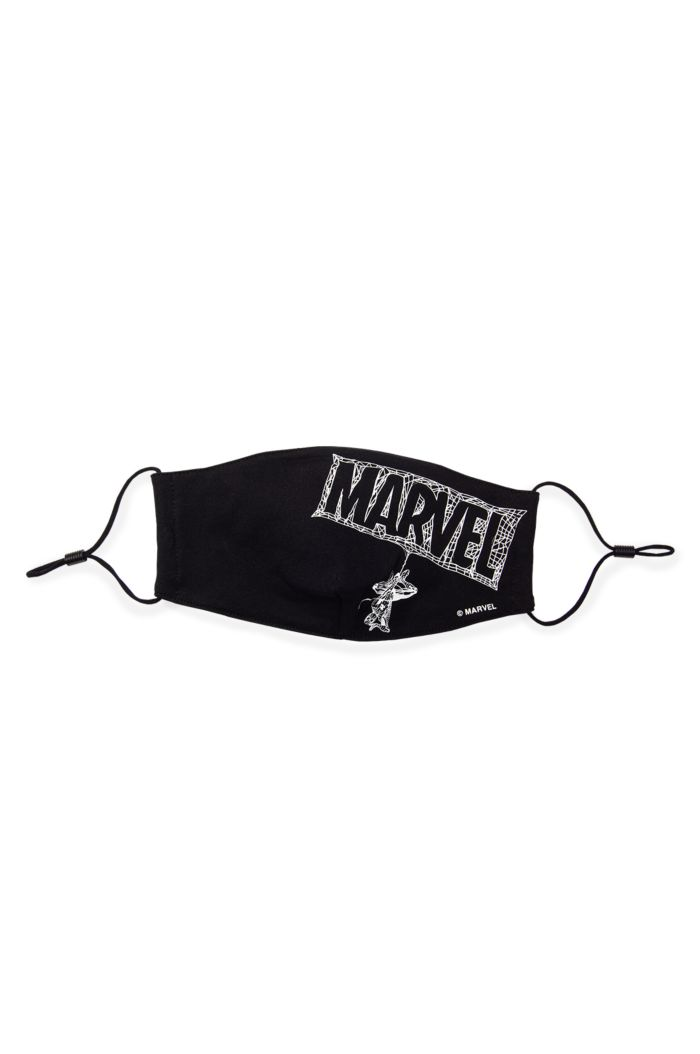 MARVEL LOGO SPIDER-MAN GLOW REUSABLE MASK