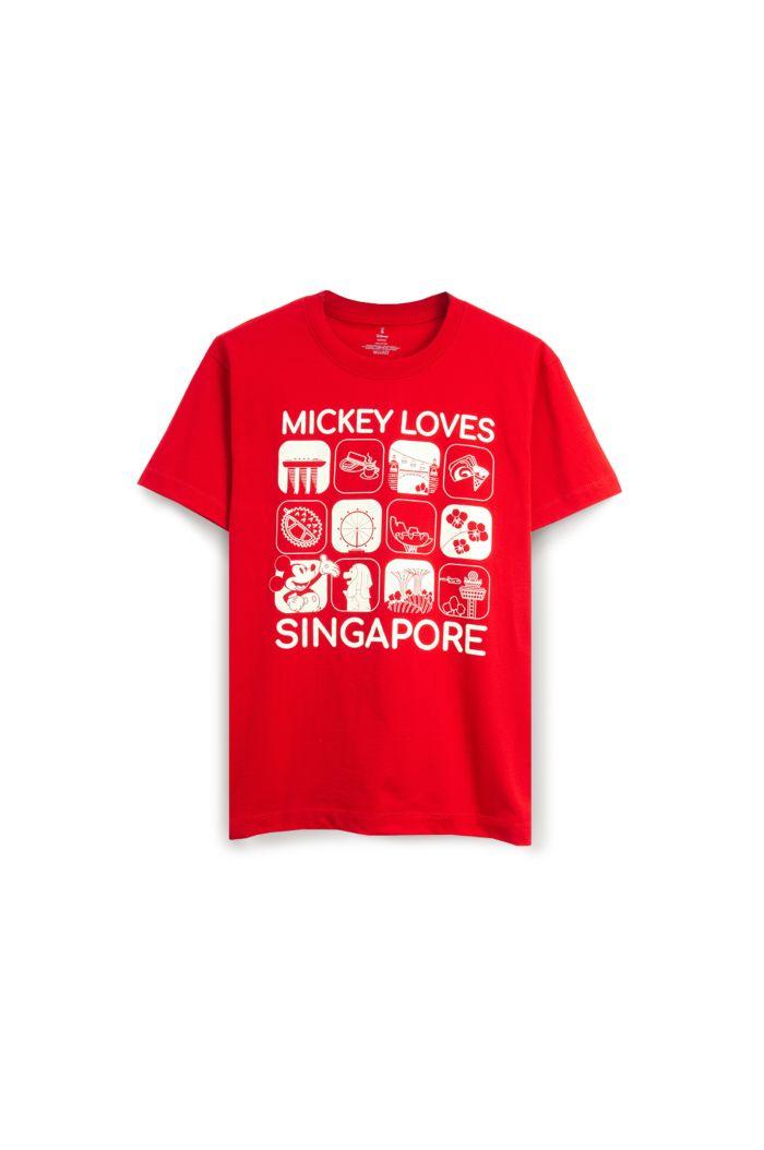MICKEY LOVE SG GLOW SQUARE GLOW T-SHIRT