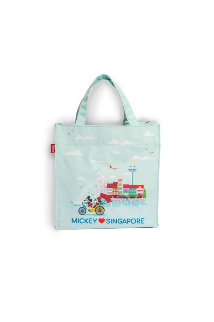 MICKEY LOVE SG TRISHAW LANDMARKS LUNCH BAG