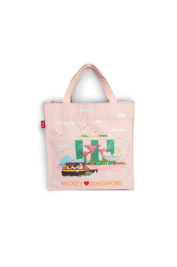 MICKEY LOVE SG BOAT LANDMARKS LUNCH BAG