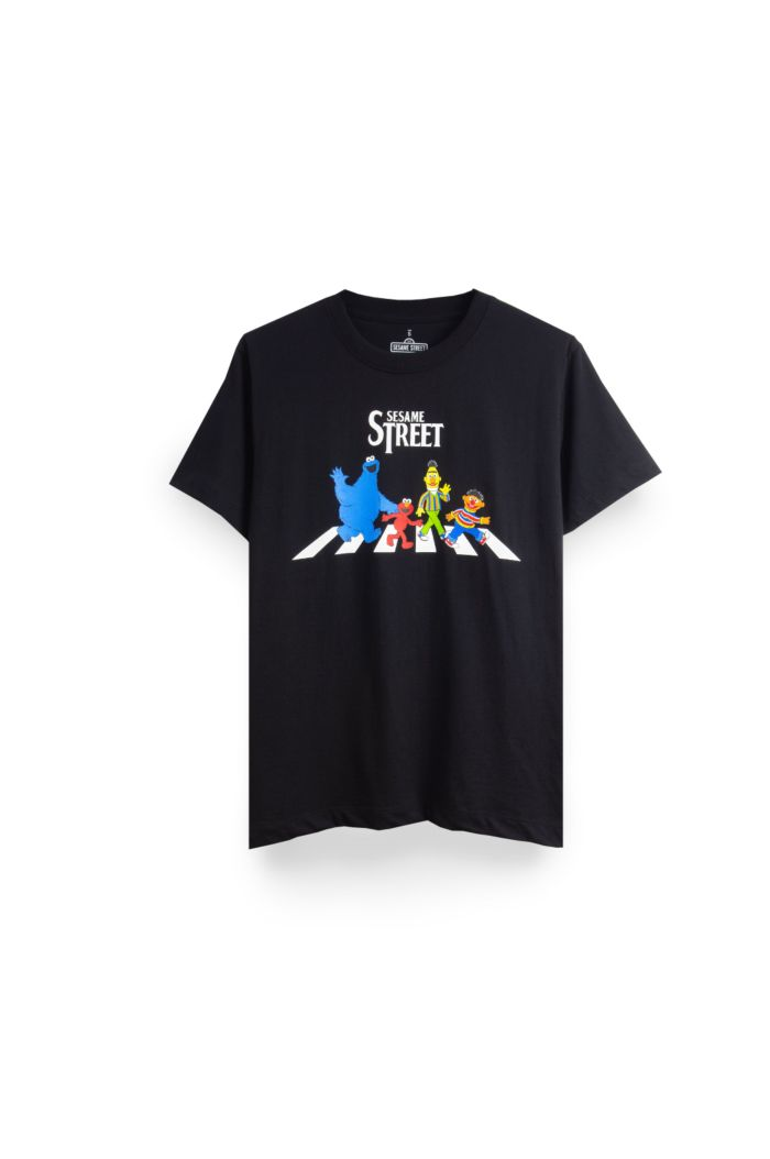 SESAME ABBEY ROAD T-SHIRT