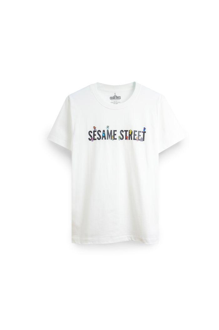 SESAME CHIBI SESAME T-SHIRT WHITE XS