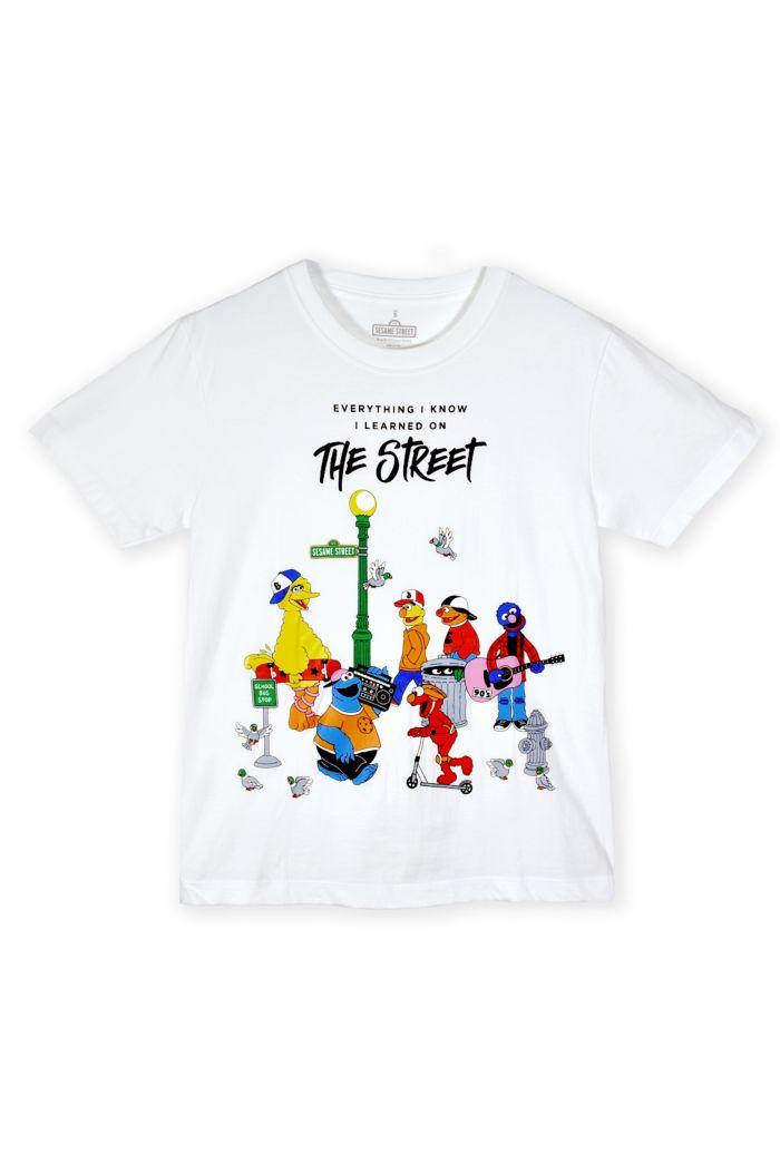 SESAME THE STREET T-SHIRT WHITE XS
