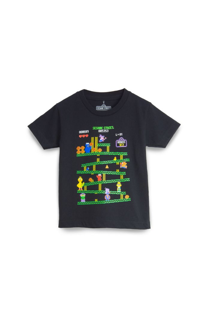SESAME GAME T-SHIRT - KIDS