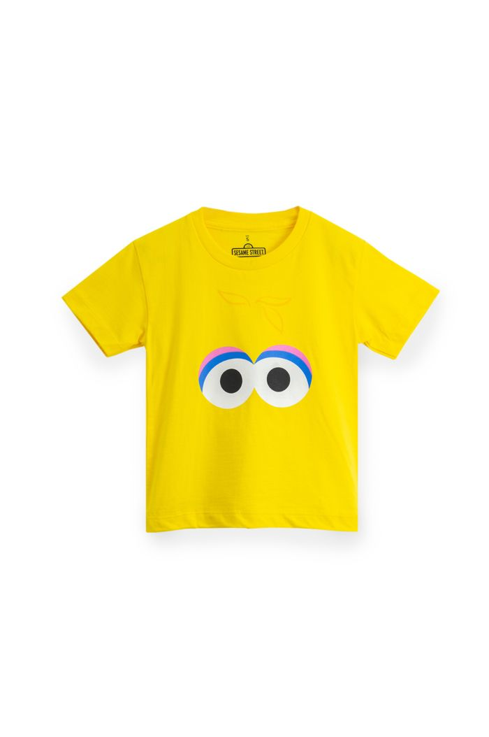 SESAME BIG BIRS FACE T-SHIRT - KIDS YELLOW S