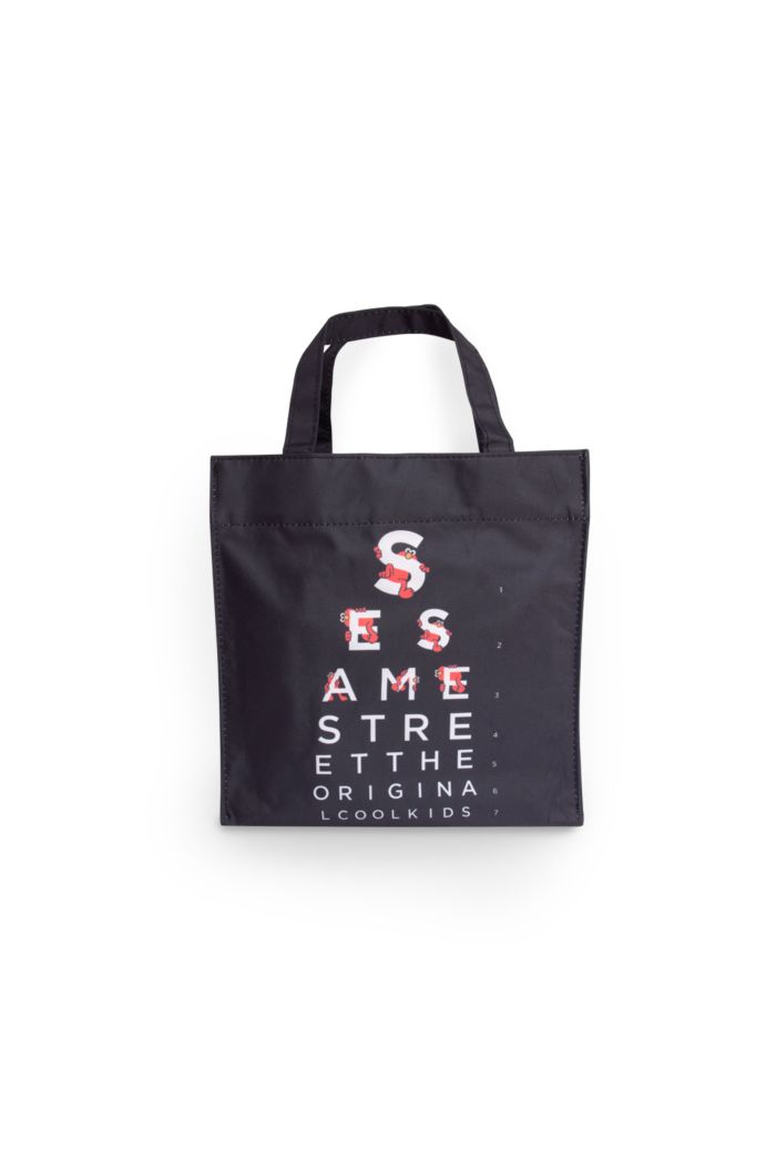 SESAME EYE CHART LUNCH BAG
