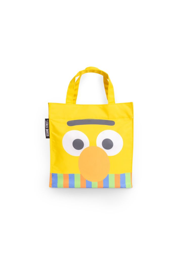 SESAME BERT FACE LUNCH BAG YELLOW 23.5cm x 23.5cm