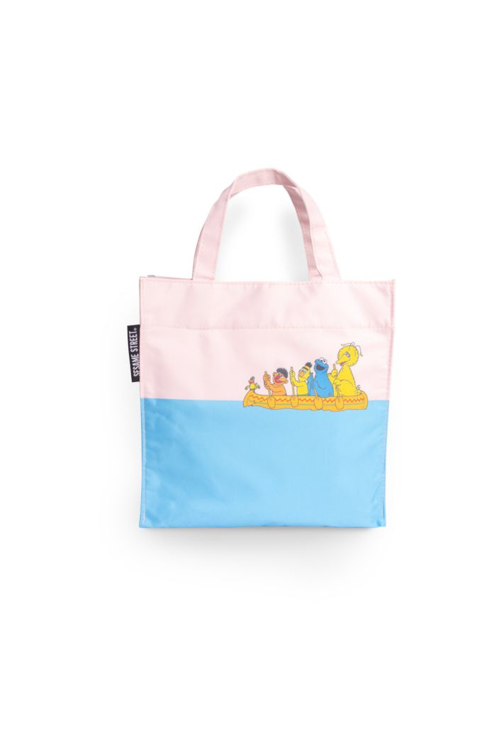 SESAME BOAT LUNCH BAG CREAM 23.5cm x 23.5cm