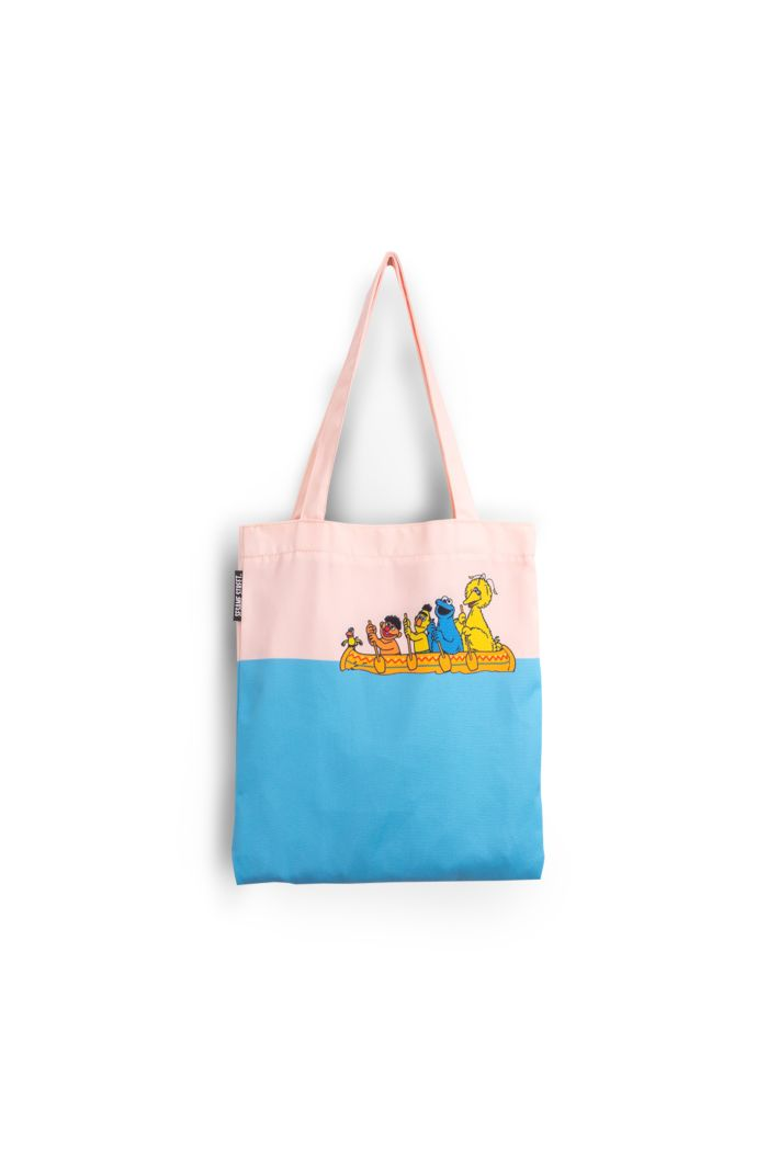 SESAME BOAT CANVAS TOTE BAG CREAM 39cm x 35.5cm