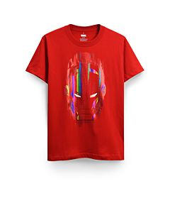MARVEL IRON MAN MASK GLOW T-SHIRT